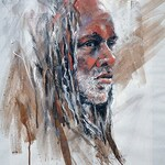 Joe Mac Kechnie - Portraits in color-Charcoal, WC & Pastels  ONLINE
