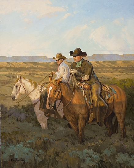 Brothers of the land - Oil