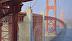 Golden Gate in Haze (diptych) by Linda Schweitzer