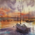 Keiko Tanabe - Watercolor Class (private)