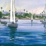 Keiko Tanabe - Plein Air Painting in San Diego
