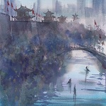 Keiko Tanabe - 3 Day Watercolor Workshop Keep It Simple and Strong