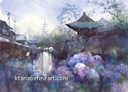 Keiko Tanabe - San Diego Watercolor Society 41st International Exhibition