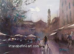 Market Day, Venice, Italy II