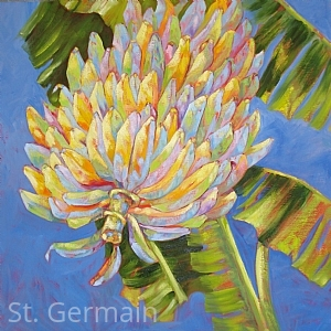 "Home Grown IX by Mary St. Germain Oil ~ 30"" x 30"""