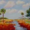 Summer Marshlands by Mary St. Germain Oil ~ 30 x 40