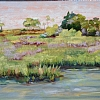 Marshes and Creeks by Mary St. Germain Oil ~  x