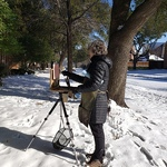 Gail Greenoe - Ellis County Spring Plein Air Competition