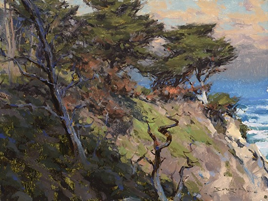 Pinnacles Cove - Oil