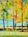 FALL COUNTRY TREES by W.F. James