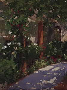 Dappled Light by Katie Dobson Cundiff Oil ~ 24 x 18