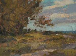 Captiva Pines by Katie Dobson Cundiff Oil ~ 9 x 12