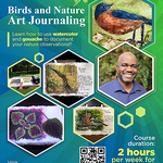 Timothy Joe - Bird & Nature Journaling in Gouache