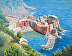 Cliffside View of Vernazza by Fred Moss