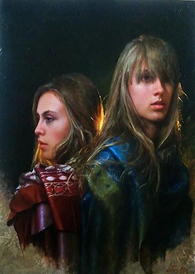 Sisters - Oil
