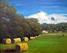 October in LaGrange (2008) by Dan O'Rourke Oil ~ 24 x 30
