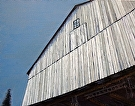 The Broad Side of a Barn (2009) by Dan O'Rourke Oil ~ 22 x 28
