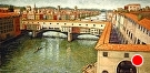 View of Florence from The Uffizi   (2009) by Dan O'Rourke Oil ~ 18 x 36