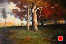 The Sycamore (After Inness) (2010) by Dan O'Rourke Oil ~ 20 x 30