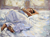 Woman Sleeping by BETH WINFIELD