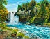 Snoqualmie Falls, Scenery 1 by Helen Zhang