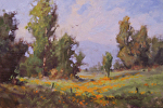 Golden Day by Yvonne Branchflower Oil ~ 4 x 6