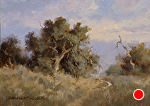 Among the Oaks 700px by Yvonne Branchflower Oil ~ 5 x 7