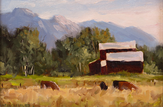 Near Lake Isabella - Oil