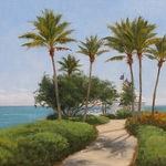 Linda Apriletti - Plein Air Painters at Ocean Reef Club