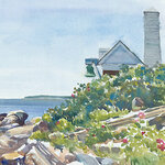"""Diane Dubreuil - New England Watercolor Society """"Brushes with Nature"""""""