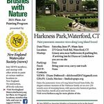 """Diane Dubreuil - New England Watercolor Society """"Brushes with Nature"""" Event"""