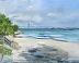Charleston Harbor from Sunrise Park by Veronique Aniel
