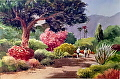 Arcadia Arboretum by Jim Burns Watercolor ~  x