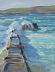 Harbour Wall, Sennen by Michael Richardson