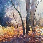 Christopher Leeper - Watercolor Landscape