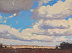 Indiana Spring Sky by carol strockwasson