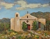Little Church at Golden, New Mexico by Thomas Mann