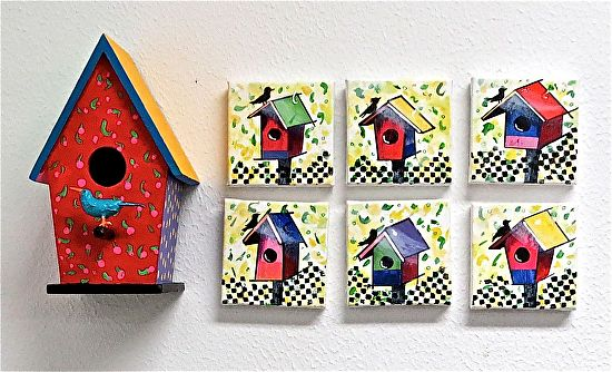 Birdhouse Collection - Acrylic