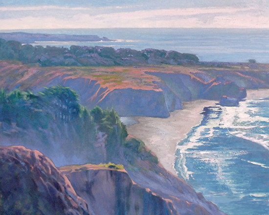 Big Sur Coast - Oil