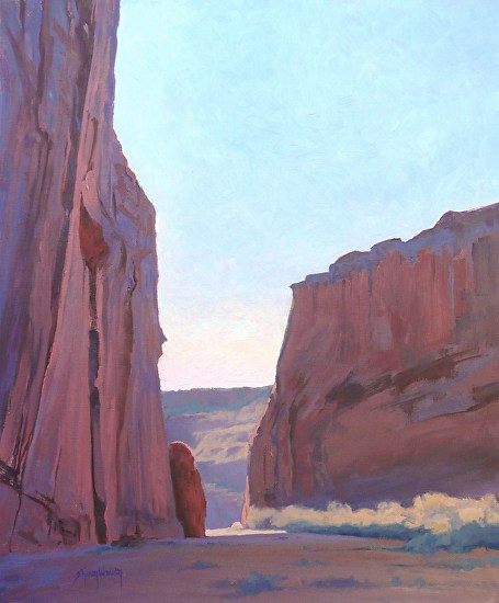 Sandstone Towers - Oil
