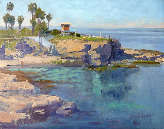 La Jolla Cove - Oil