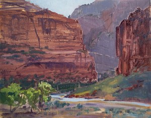 Big Bend by Sharon Weaver Oil ~ 11 x 14