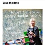 Nancy Junkin - Howell Gallery & Nancy Junkin Open Studio