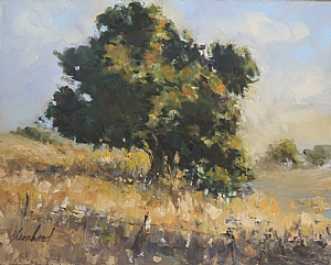 California Oak by Susan Leonhard Oil ~ 8 x 10