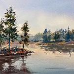 Drew Bandish - Watercolor Zoom Wed Morn 7010