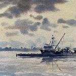 Drew Bandish - Watercolor Wednesday Morning Zoom #7011