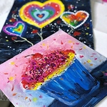 Rohini Mathur - Valentine's Day Art Workshop
