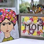 Rohini Mathur - MOM Word Play & Spring Bling Frida Art Workshop - Supply Kit