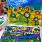 Rohini Mathur - Van Gogh's Sunflower Fields & Starry Night  Art Workshop
