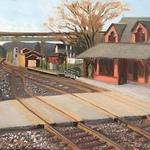 Meredith Morris - B&O Railroad Museum Winter Plein Air Challenge and Show